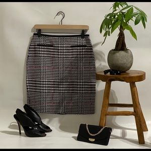 NWT Talbots houndstooth pencil skirt